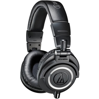 ATH-M50X Professional Studio Headphones (Black)