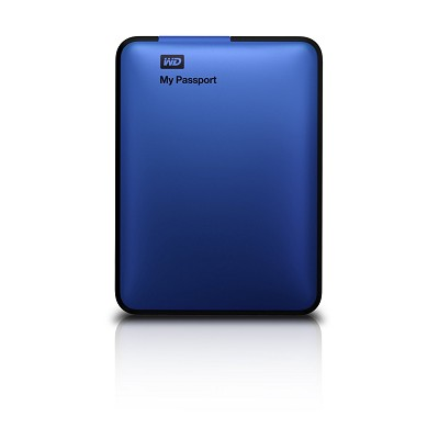 My Passport 500 GB USB 3.0 Portable Hard Drive - WDBKXH5000ABL-NESN (Blue)