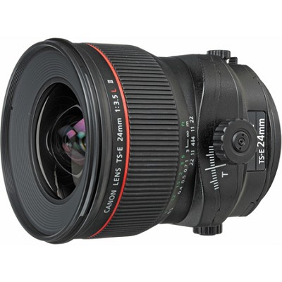 TS-E 24mm f/3.5L II Ultra-Wide Tilt-Shift Manual Focus Lens
