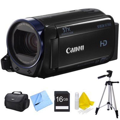 Vixia HF R60 High Definition Camcorder Bundle