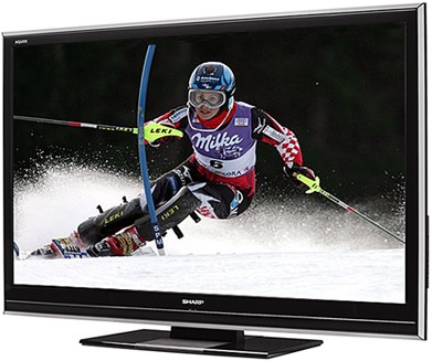 LC-52D85U - AQUOS 52` High-definition 1080p 120Hz LCD TV
