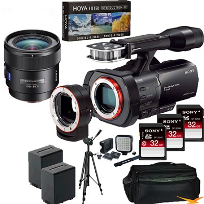 NEX-VG900 Full-Frame Full Frame HD Camcorder + SAL 24MM f/2.0 Full Frame Lens