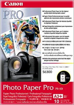 Pro Photo Paper 13` X 19` - 10 Sheets