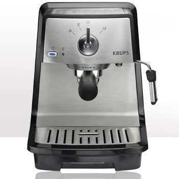 Pump Espresso Machine - Black & Stainless Steel - XP4030
