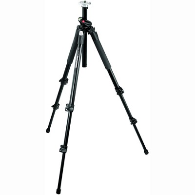 Professional Aluminium Tripod Black without Head (190XPROB)