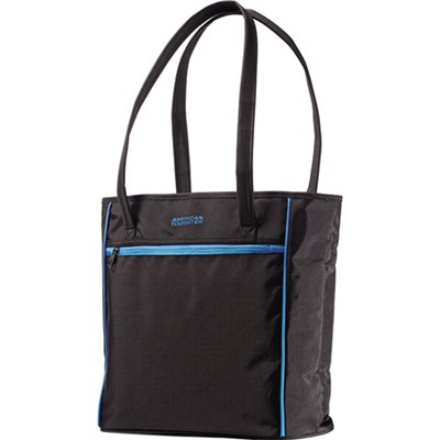 Black and Blue Skylite Shopper Bag