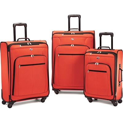 Pop Plus 3 Piece Luggage Set (Orange) - 64590-1641 - OPEN BOX