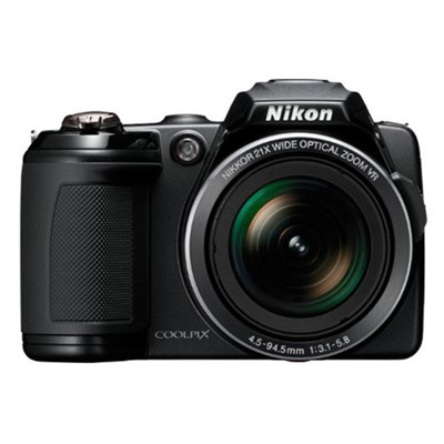 COOLPIX L120 14MP Digital Camera w/ 21x Optical Zoom (Black) Refurbished