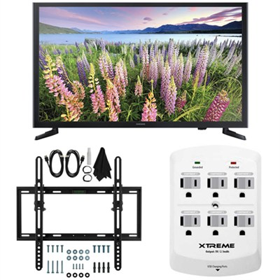 UN32J5003 - 32-Inch Full HD 1080p LED HDTV Flat & Tilt Wall Mount Bundle