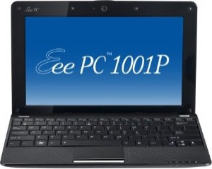 Eee PC 1001P-PU17-BK 10.1` Atom N450/250G HDD/1GB DDR2/Windows 7 Starter