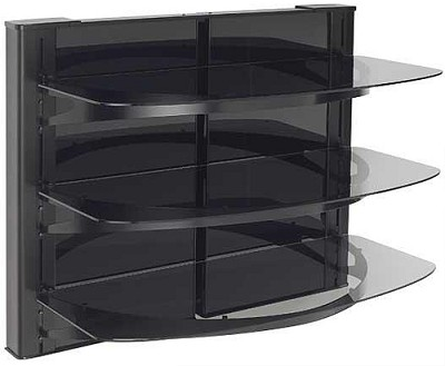 VF5023 - Vertical A/V Series HDpro 3-shelf on-wall component shelving