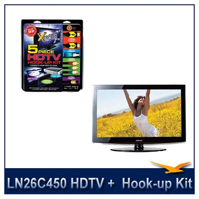 LN26C450 - HDTV + High-performance HDTV Hook-up & Maintenance Kit