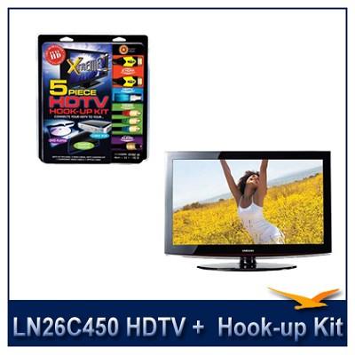 LN26C450 - HDTV + High-performance HDTV Hook-up & Maintenance Kit