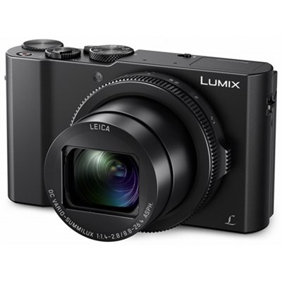 LUMIX LX10 20.1 MP 3x F/1.4-2.8 Leica DC Optical Zoom Digital Camera - Black