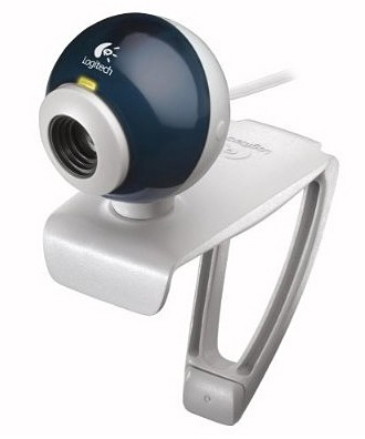 QuickCam Express Webcam - White/Blue -  OPEN BOX