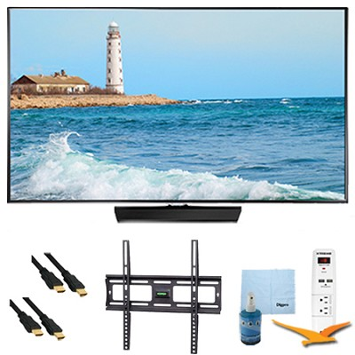 48` Slim Full HD 1080p LED Smart TV 60Hz Plus Mount & Hook-Up Bundle - UN48H5500
