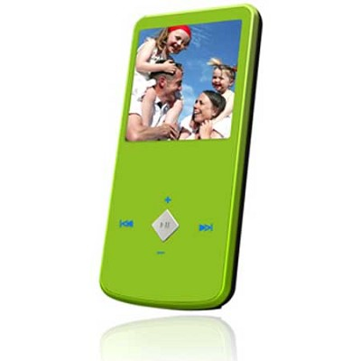 eJam II 4GB Flash MP3 Player w/ Video Player 1.5` LCD (Green)