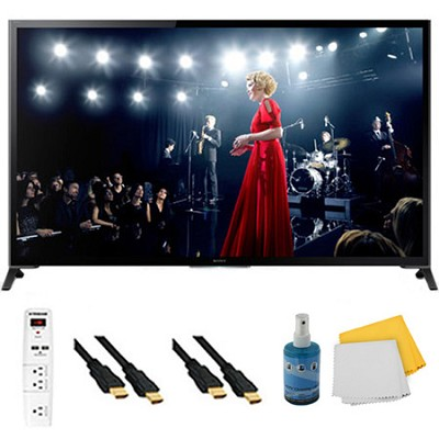 65` Flagship 4K UHD 3D Smart TV Motionflow XR 960 Plus Hook-Up Bundle XBR65X950B