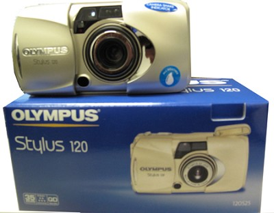 Stylus 120 Kit - Stylus 120 Camera, Battery, Strap, Warranty - OPEN BOX