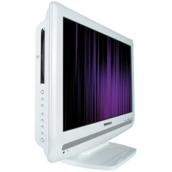 15LV506 - 15`  High-defintion LCD TV w/ built-in DVD Player (Hi-Gloss White)