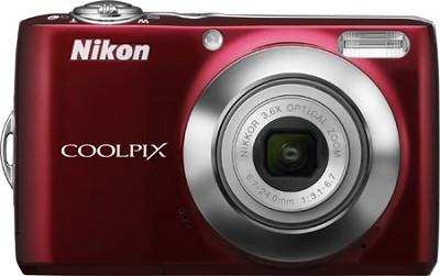 COOLPIX L22 Digital Camera (Red)