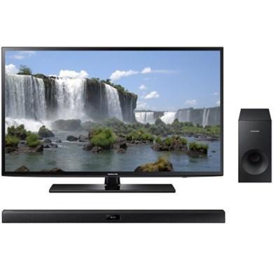 55-inch 1080p Full HD LED Smart HDTV Bundle with Bluetooth Soundbar