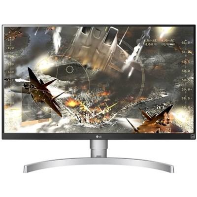 27` 4K HDR IPS Monitor 3840 x 2160 16:9 27UK650W