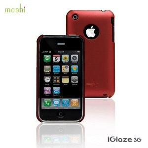 iGlaze for iPhone 3G/3GS Cranberry Red