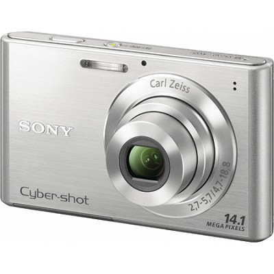 Cyber-shot DSC-W330 14MP Silver Digital Camera