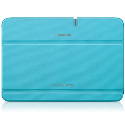 Galaxy Note 10.1 Book Cover - Light Blue - OPEN BOX