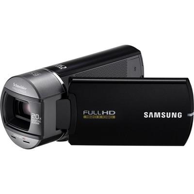 HMX-Q10BN Ultra Compact Full HD Black Camcorder w/ 10x Optical Zoom