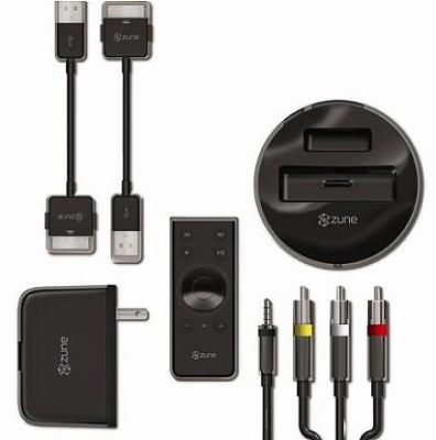 Zune Home AV Kit-inlcudes -Dock, Remote, AV, Travel charger, USB - OPEN BOX