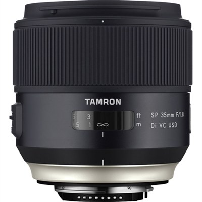 SP 35mm f/1.8 Di VC USD Lens for Canon EOS Mount (AFF012C-700) - OPEN BOX