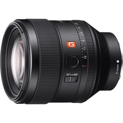 FE 85mm F1.4 GM Full Frame E-Mount Lens - OPEN BOX