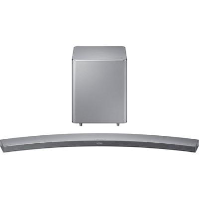 HW-H7501 8.1 Channel 320 Watt Wireless Audio Curved Soundbar - Silver