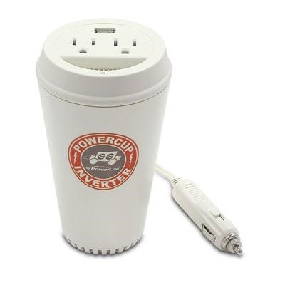 CoffeeCup 200/400 Watt Mobile Inverter with USB Power Port - 90309