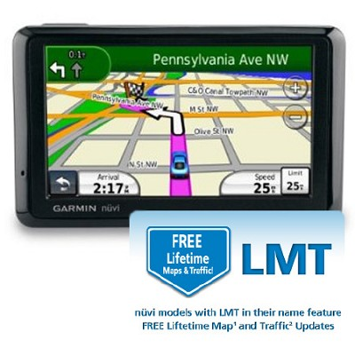nuvi 1390T North America City GPS with Free Lifetime Maps and Traffic Updates