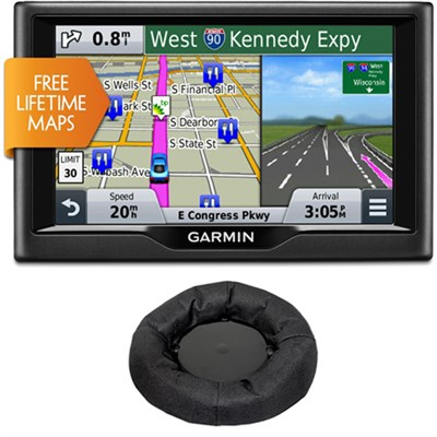 nuvi 58LM 5` Essential Series 2015 GPS Navigation System w Lifetime Maps Bundle