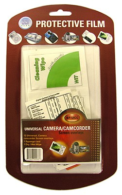 Digital Camera and Camcorder Screen Protectors for LCD's (pack of 12)