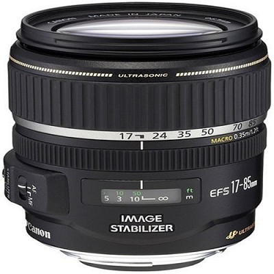 EF-S 17-85mm F/4-5.6 IS USM Lens - REFURBISHED