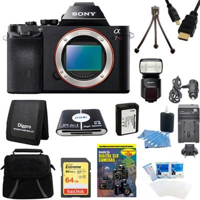 Alpha 7R a7R Digital Camera , HVL-F60M Flash Bundle
