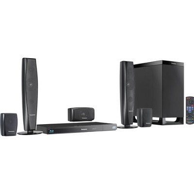 SC-BTT370 5.1 Channel 3D Blu-Ray WiFi Cinema Surround Home Entertainment System
