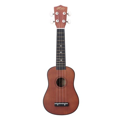 Deluxe Soprano Ukulele, Light Mahogany - OPEN BOX