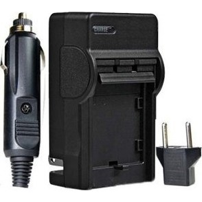 AC/DC Rapid battery charger for Canon NB-6L Batteries