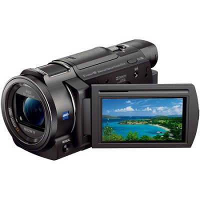 FDR-AX33/B - 4K Camcorder with 1/2.3` Sensor (Black) - OPEN BOX