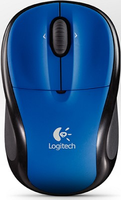 V220 Cordless Optical Mouse for Notebooks (Cobalt Blue)