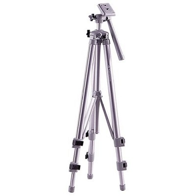 1100  Deluxe 54` Camera Tripod w/ 3- Way Pan & Tilt Head