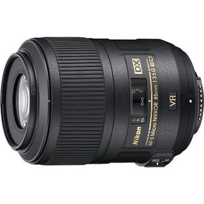 AF-S DX Micro NIKKOR 85mm f/3.5G ED VR Lens for Nikon Digital SLR Cameras
