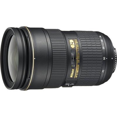 AF-S NIKKOR 24-70mm f/2.8G ED Lens - Factory Refurbished