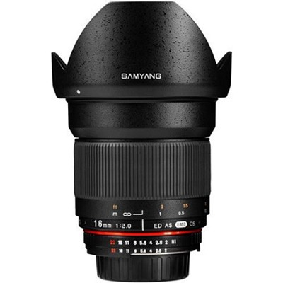 16mm F2.0 Wide Angle Lens for Canon